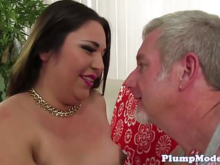 Doggystyled bigass bbw loves riding cock