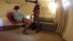 BDSM hard nipples torture