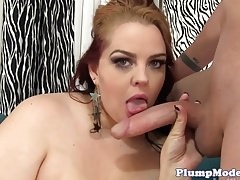 Doggystyle screwed bbw gets pussylicked