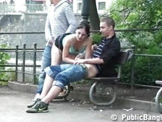Kaiserslautern eros center - Gangbang with a cute teen in the middle of a city center p 2