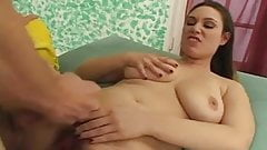 Hairy & busty Brunette offers a bush safari