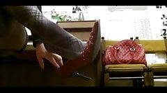 Teacher Playing Piano Nylons
