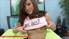 cute 18 year old tiny skinny asian with tounge ring gets sla's Thumb