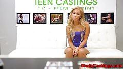Brutal casting audition for real teen