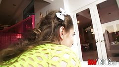 Bamvisions Tiny Teenage Anal Slut Rebel Lynn