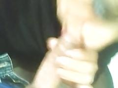 Travesti mamandomela (Travestite sucking my dick)