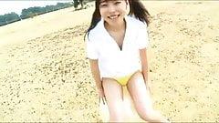 JPN girl plays in public