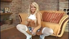 Cute blonde milf anal  porn image