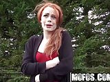 Mofos - Stranded Teens - British Redhead Sucks Cock starring