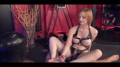 Mistress in Harness: Domination and FootJob