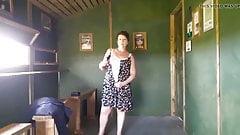 My Saucy Striptease in RSPB Bird Hide