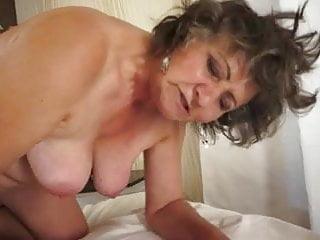 Watch her milk big cock and make him cum over her dark bush