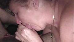Cock sucking slut wife