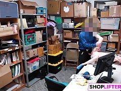Shoplifting Sweety Catarina Gets Banged