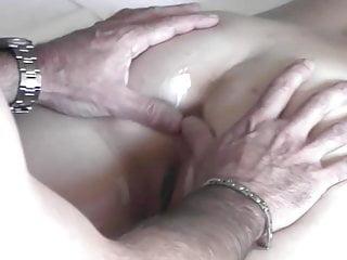 Stranger fingering my wife's asshole