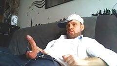 Str8 guy stroke on couch