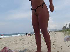 Naughty Wife teases in skimpy bikini