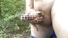 Wichsen und Spritzen am See