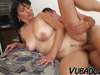 OLD WOMAN FUCKED BY A BOY !!