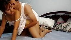 Asian amateur webcam sextape