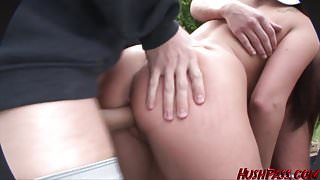 Slutty Sisters get fucked at a frat party