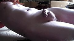 Quick stroke with huge cumshot
