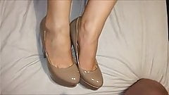 amateur cum on feet compilation