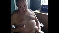 grandpa play on webcam