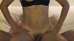 Homemade married couple fucking and swallowing cum