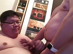 Fat Asian Twink bj