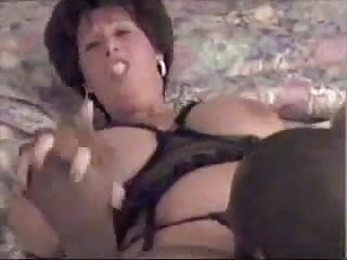 Mature BBW Takes A Load In Her Mouth