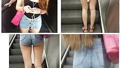 Hotpants fickarsch