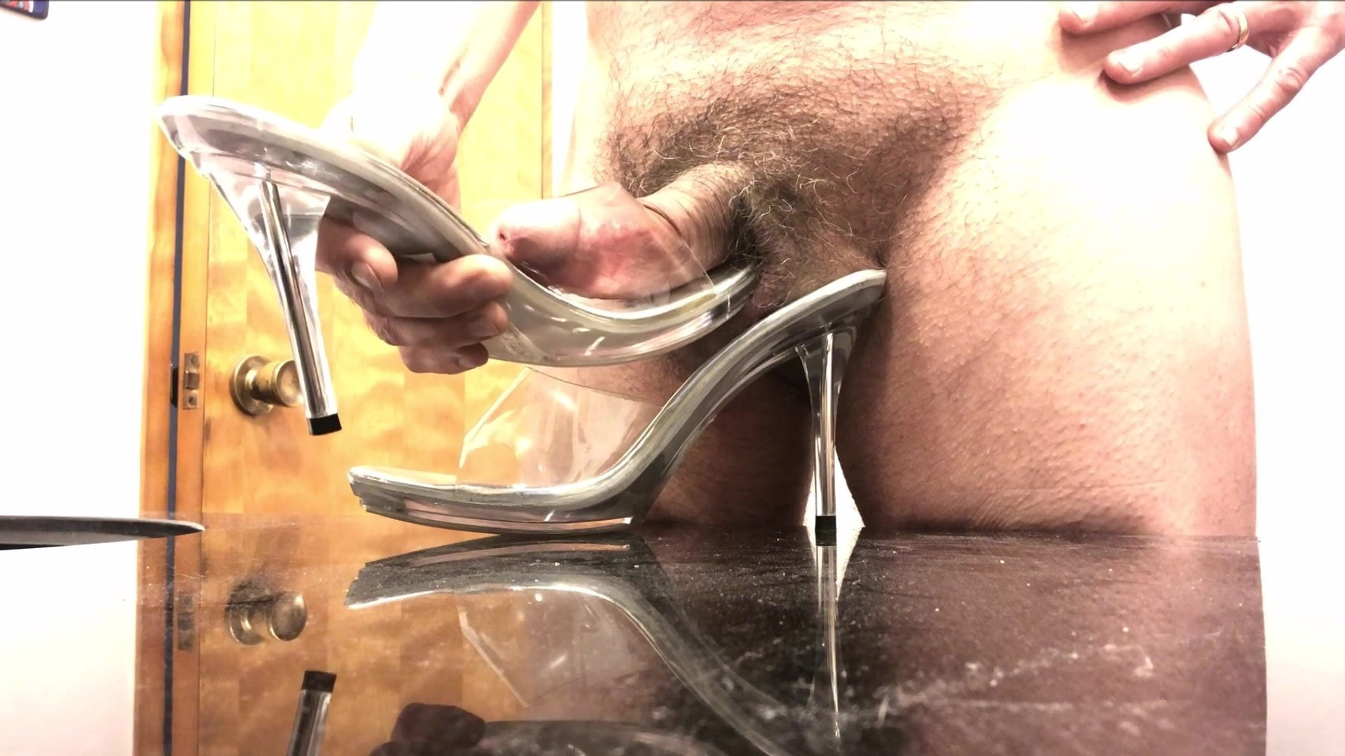 Yummy Acrylic Mules Get Fucked!