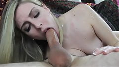 Rough Blowjob Shot in the Mouth