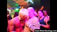 Blonde has her titties touched