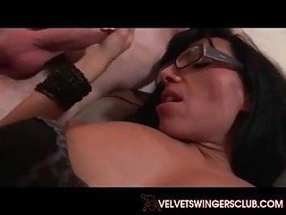 Velvet Swingers Club gangbang party MILF and 10 cocks