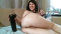Big anal dildo