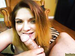 Amateur girl Rachel sucks pov and gets fucked hard