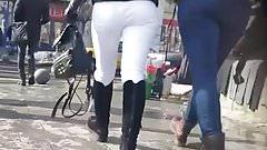 spy two girls sexy ass jeans romanian