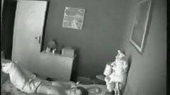 Hidden spy voyeur masturbating