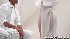 18yo Mormon beauty initiated into the order by hung elder