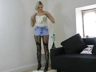 More ideas with suspender Tights