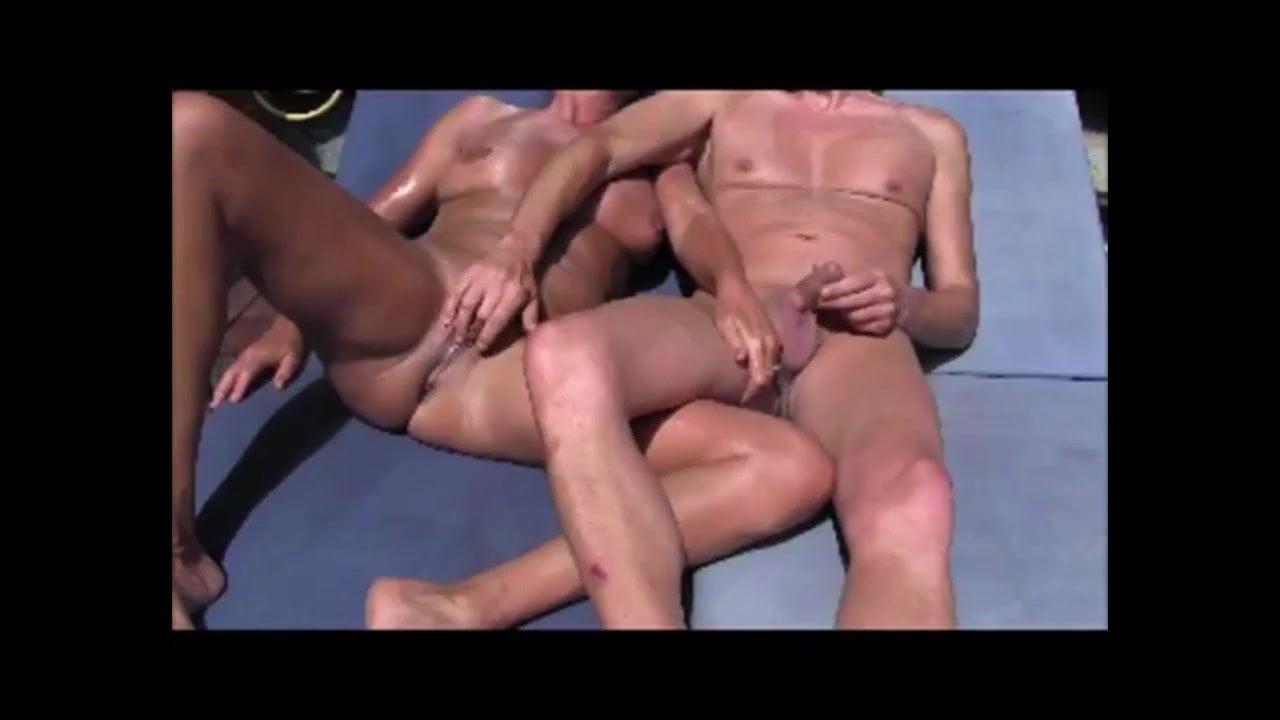 Star Trio Mutual Masturbation