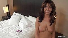 Amber Jane resident milf pov her first video