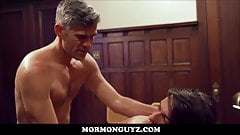 Hot Fit Young Latino Mormon Twink Fucked By Church Leader