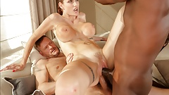 it`s very HOT  MILF Just Got Fucked by Two Masseuses
