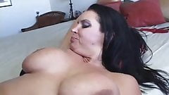 interracial anal sex brunette girl big tits and black dick