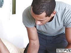 Stepsis Michelle Martinez asks to fuck her
