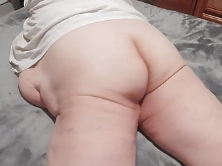 laying on bed