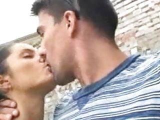 Couple in public places